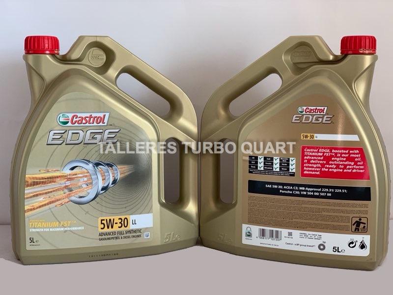 precio cambio aceite castrol titanium